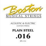 Струна для акустичної або електрогітари Boston BPL-016
