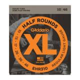 Струни для електрогітари D'addario XL Half Rounds EHR310 REGULAR LIGHT 10-46