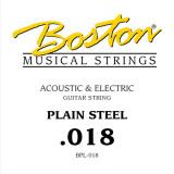 Струна для акустичної або електрогітари Boston BPL-018