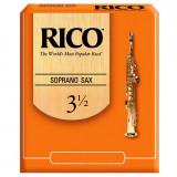 Тростини для сопрано-саксофона Rico серія RICO (1 шт.) #3.5