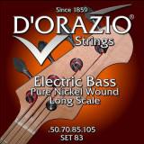 Струни для бас-гітари D'orazio SET-83