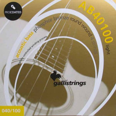 Струни для акустичної бас-гітари Galli ProCoated AB-40100