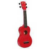 Ukulele Korala UKS-30 + bag (Red)