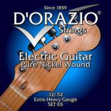 Струни для електрогітари D'ORAZIO SET-65