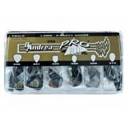 Медіатори в наборі D'Andrea PRO-6/6 типів/144 шт