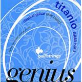 Струни для класичної гітари Galli Genius Titano PROcoated GR40 (28-45) Hard Tension