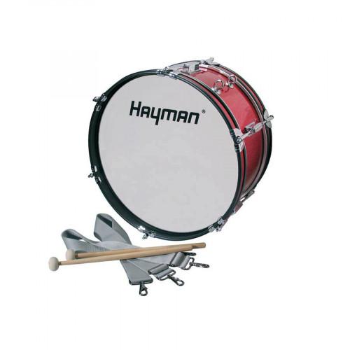Маршoвый бас-барабан Hayman JMDR-1607 Bass drum