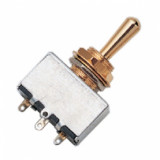 Switch 3-position toggle switch indoor Switch 3-position toggle switch indoor, color: gold plated