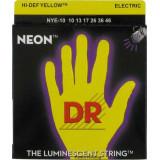 Струни для електрогітари DR NYE-10 NEON Hi-Def (10-46) Medium