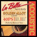 Струни для акустичної гітари LaBella L-40PS