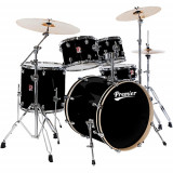 Drumset Premier 64099-44 PHS PowerHouse Modern Rock22 + Hardware kit Premier 5864, APK/XPK Hardware Pack (3000 Series) Galactic Black