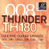 Струни для електрогітари Galli Thunder Hunter TH180 (08-39) Extra Super Light