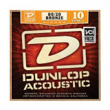 Strings for acoustic guitars Dunlop DAB1048, set 10-48 bronze 80/20
