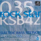 Струни для бас-гітари Galli Rock Star RSB42 (35-85) Nickel Light