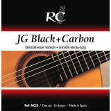 Classical guitar strings ROYAL CLASSICS NC20, BLACK AND CARBON
