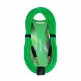 Інструментальний кабель Bespeco Eagle Pro EAJJ500 Флуоресцентний Зелений