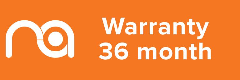 Maximum Acoustics Product Warranty 36 months